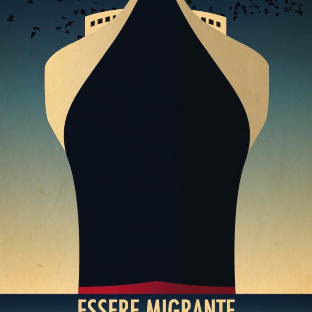 Locandina spettacolo Essere migrante