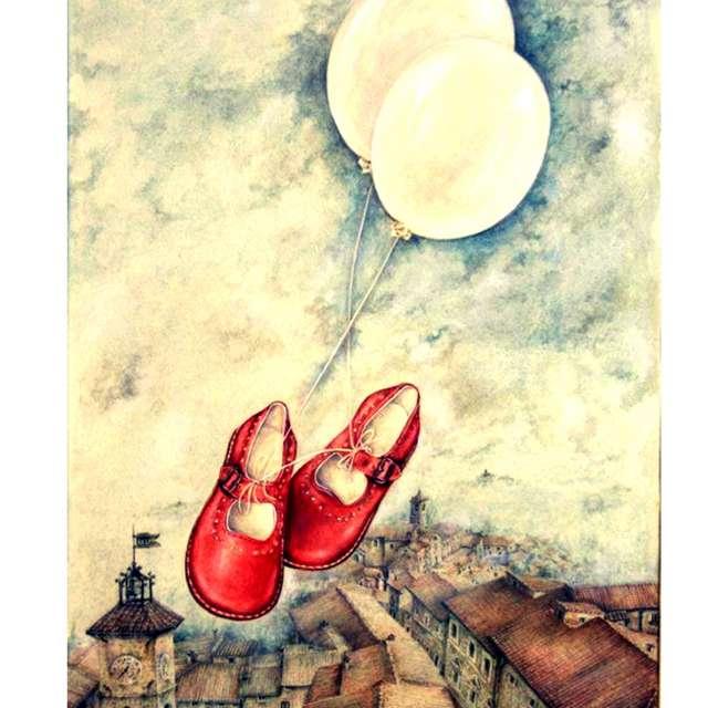 locandina Un, due, tre... scarpe! In cammino per il mondo