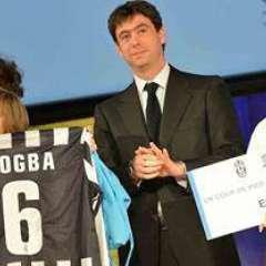 Premiazione Essere migrante con Andrea Agnelli presso sede Unesco